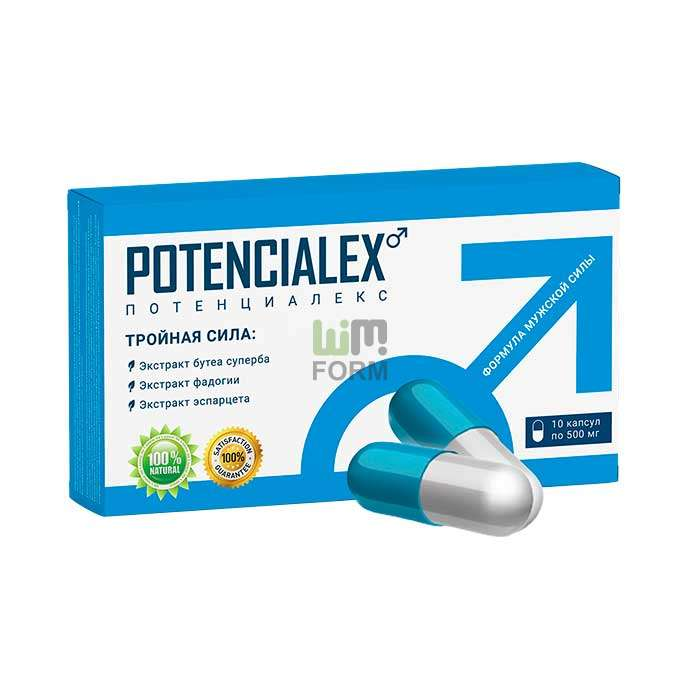 POTENCIALEX gyógyszer a hatékonyságért